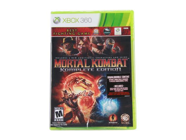 Mortal Kombat Komplete Edition Xbox 360 Game