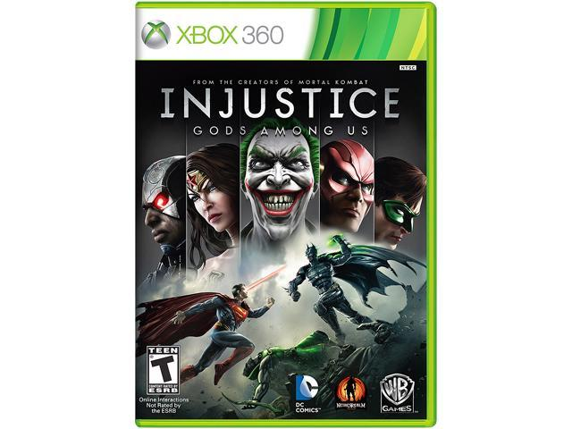 Injustice: Gods Among Us Xbox 360 Game