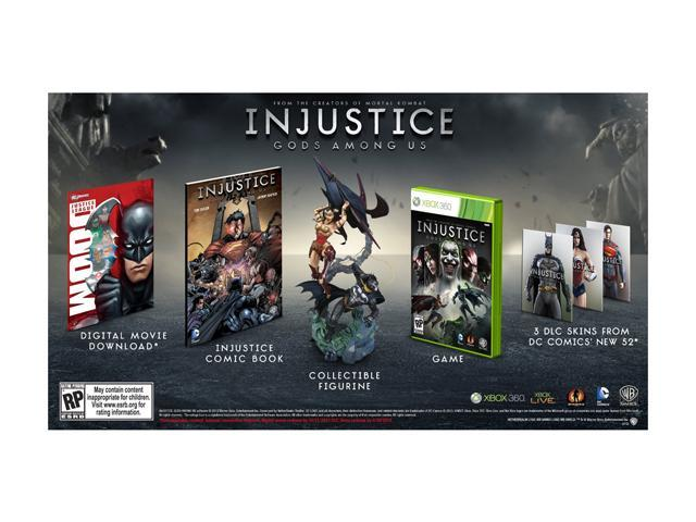 Injustice: Gods Among Us Collector's Edition Xbox 360 Game