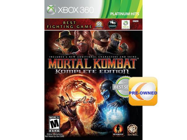 PRE-OWNED Mortal Kombat Komplete Edition Xbox 360