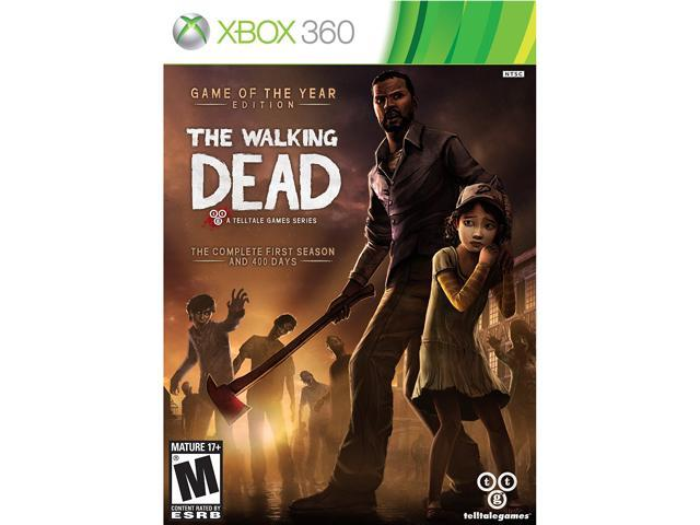 The walking dead: game of the year edition Xbox 360