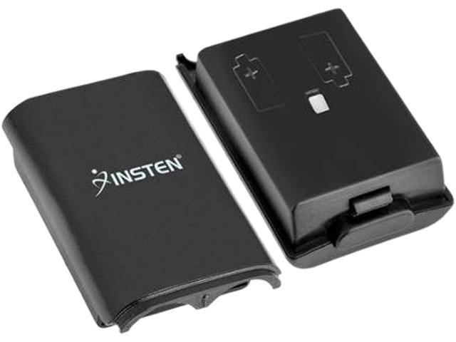INSTEN Black Wireless Controller Battery Pack Shell For Microsoft Xbox 360 / Xbox 360 Slim