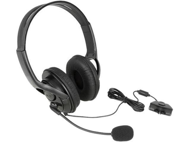 INSTEN Headset w/ Microphone For MicroSoft Xbox 360 / Xbox 360 Slim - Black