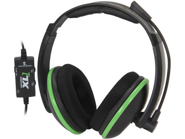 Turtle Beach Ear Force XL1 amplified wired headset w/mic (black)