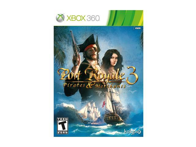 Port Royale 3: Pirates & Merchants Xbox 360 Game