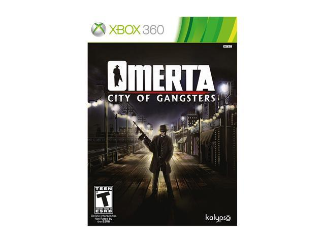 Omerta: City of Gangsters Xbox 360 Game