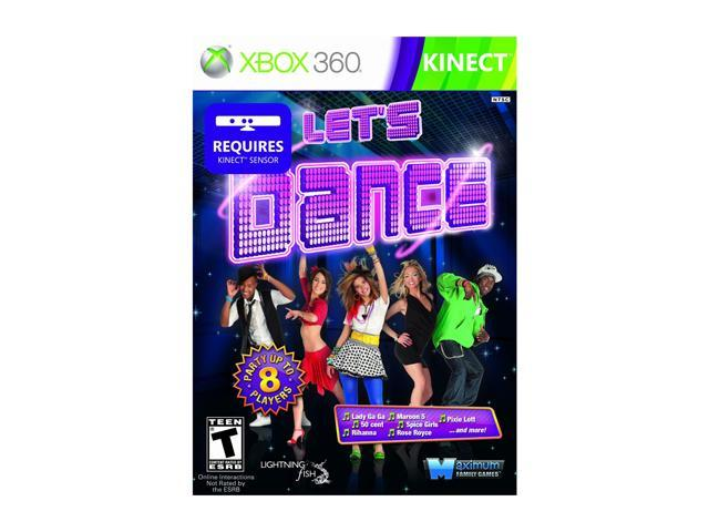 Let's Dance Xbox 360 Game