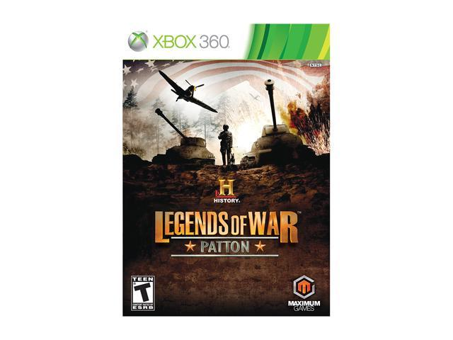 History Legends of War: Patton Xbox 360 Game