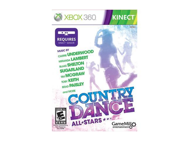 Country Dance: All Stars Kinect Xbox 360 Game