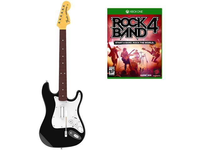Rock Band 4 Wireless Fender Stratocaster Guitar Controller ...