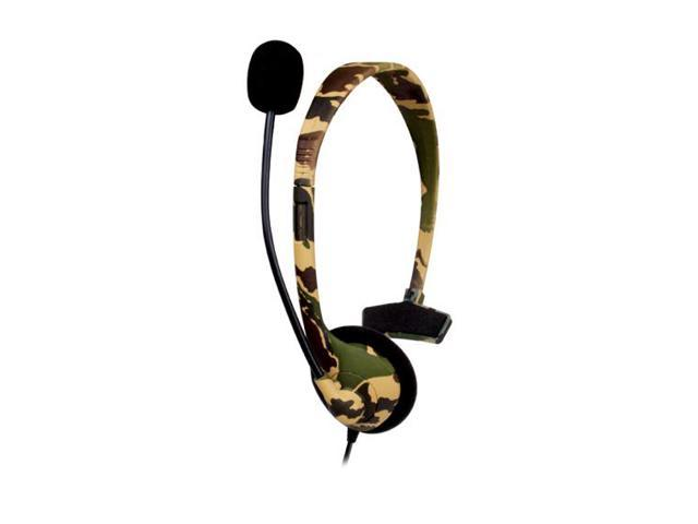 dreamGEAR XBOX 360 Broadcaster Headset Camo