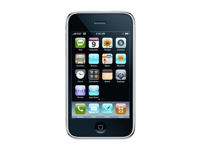 "Apple iPhone 3GS MB715LL/A 16 GB storage, 256 MB RAM 16GB CellPhone for AT&T service only 3.5"" Black"