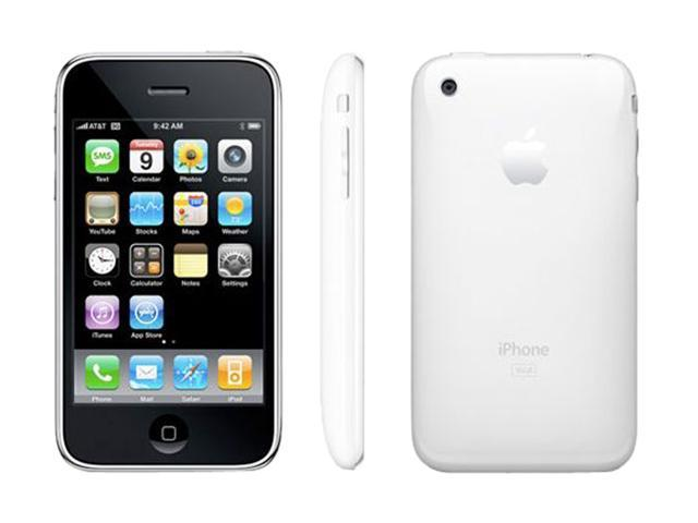 Apple iPhone 3GS 16GB White for AT&T service only (MB716LL/A)