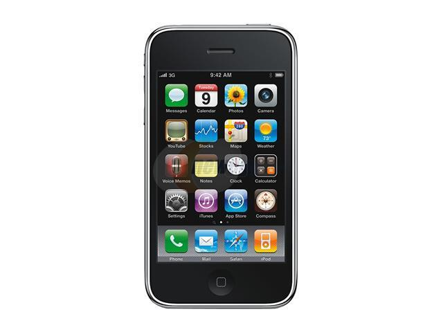 Apple iPhone MC131TA/A Black 3GS 16GB Legally Unlocked for All GSM Carrier