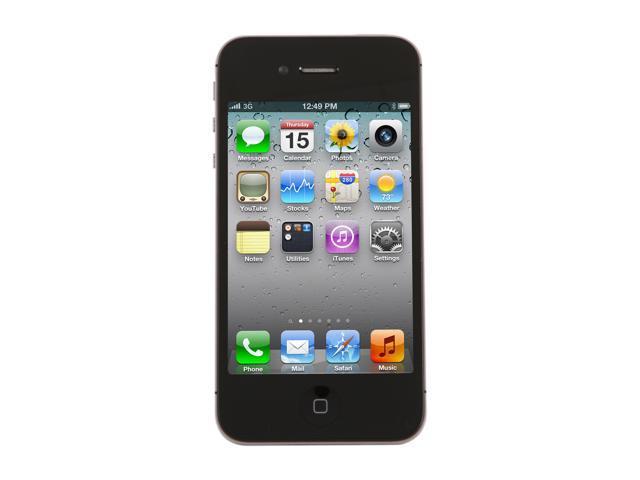"Apple iPhone 4S 16GB MC918LL/A 16GB Cell Phone w/ 8 MP Camera / A5 Processor For AT&T (MC918LL/A) 3.5"" Black"
