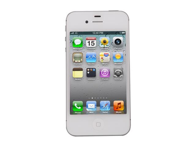 "Apple iPhone 4S 16GB MC920LL/A 16GB Cell Phone w/ 8 MP Camera / A5 Processor For AT&T (MC920LL/A) 3.5"" White"