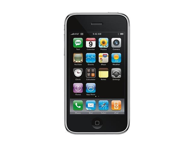 Apple iPhone 3GS MB702LL/A Black 3G 8GB Unlocked GSM Smart Phone