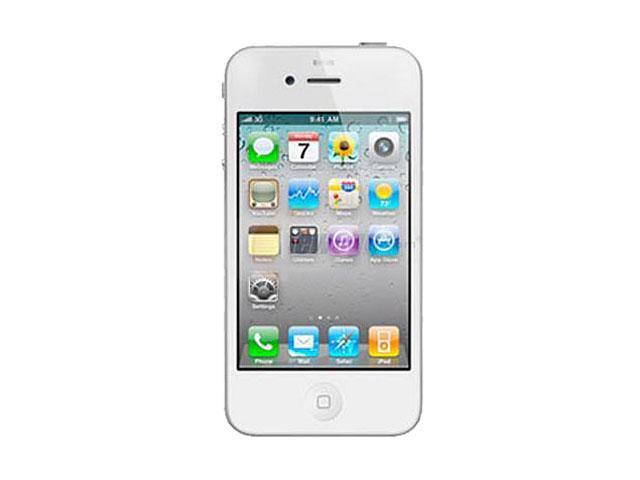 "Apple iPhone 4 MD200LL/A 8 GB storage, 512 MB RAM 8GB CDMA Smart Phone for Sprint Only 3.5"" White"