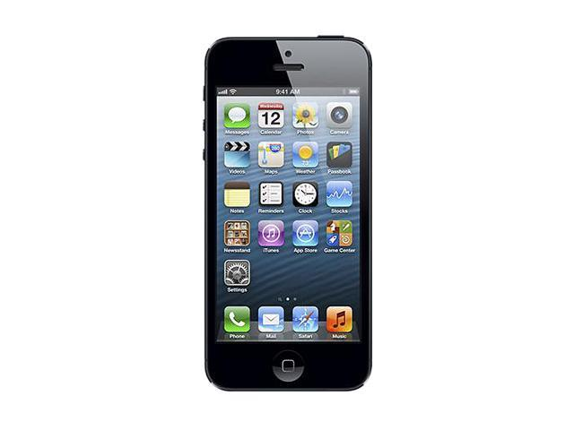 Apple iPhone 5 Black & Slate 4G LTE Unlocked Smart Phone with 4