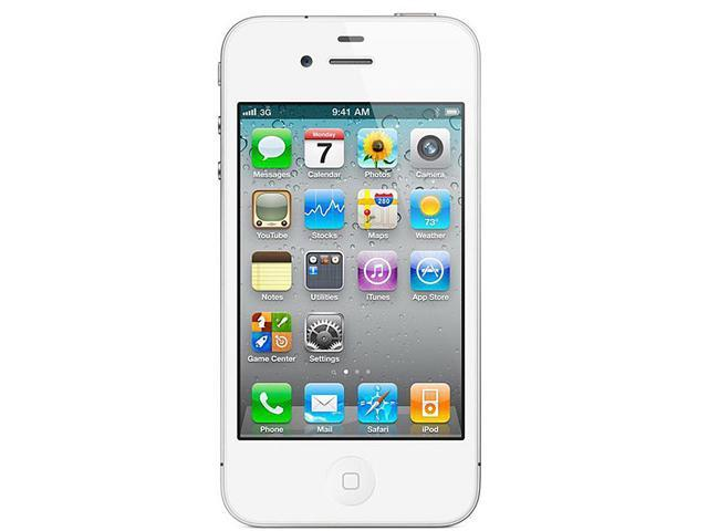 Apple iPhone 4 MD198C/A 8 GB storage, 512 MB RAM 8GB Unlock Smart Phone with Retina Display / HD Video Recording / Face Time ...