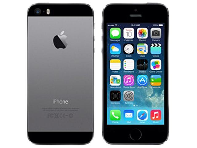 Apple iPhone 5S ME341LL/A Space Gray LTE 16GB Unlocked Cell Phone