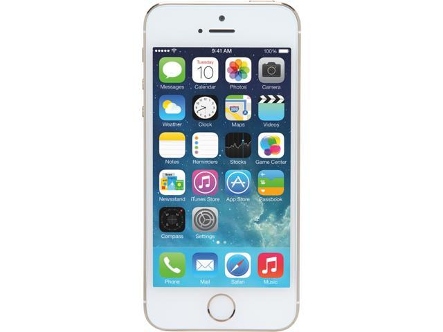 Apple iPhone 5S, 4G LTE, 16GB storage Unlocked Cell Phone (ME343LL/A Gold)