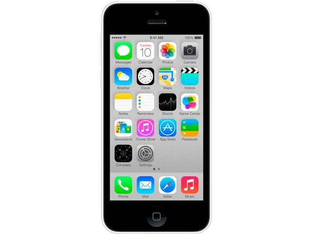"Apple iPhone 5 iPhone 5C 16GB GSM / HSPA / LTE Unlocked Cell Phone 4.0"" 1GB RAM White"