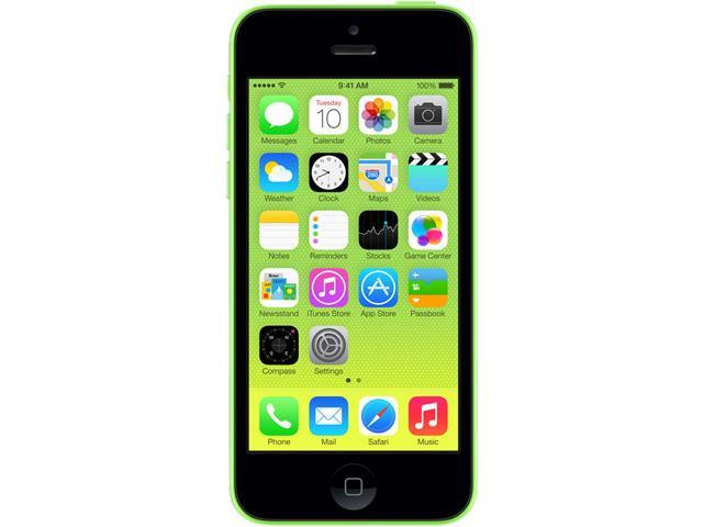 "Apple iPhone 5C 16GB Unlocked Cell Phone 4.0"" Lime"