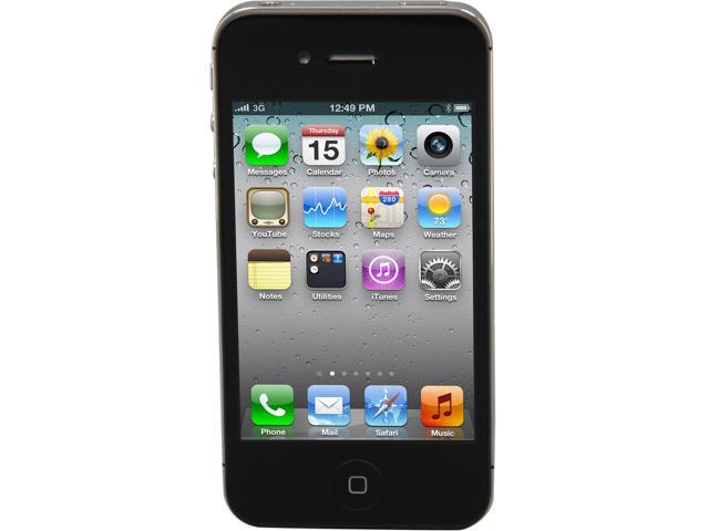 "Apple iPhone 4S 8GB MF263E/A 8GB Unlocked Cell Phone 3.5"" Black"