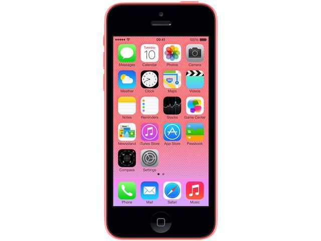 "Apple iPhone 5C 32GB MF133LL/A 32GB 4G Unlocked GSM Cell Phone 4.0"" Pink"