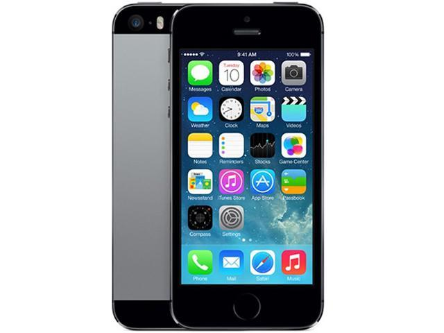 Apple iPhone 5S 32GB ME299LL/A 32GB 4G LTE Unlocked GSM Cell Phone 4.0
