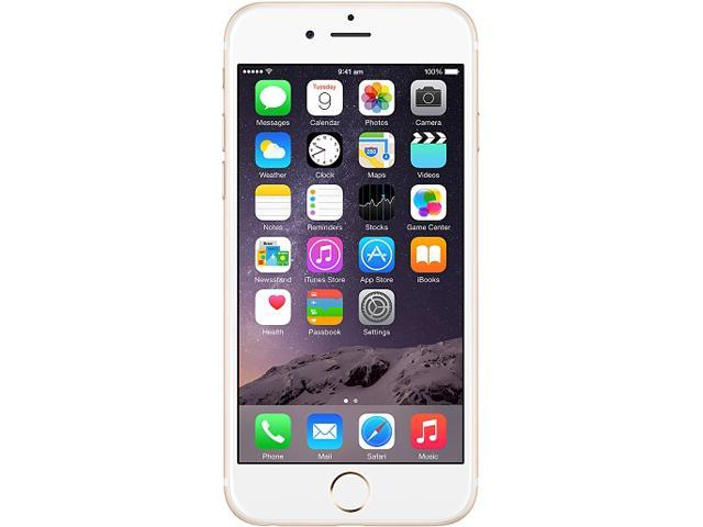 iphone 6 for boost mobile apple iphone 6 gold 16gb boost mobile cell phone newegg 17534