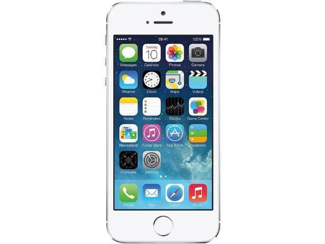 Apple iPhone 5s Silver LTE 16GB Verizon / GSM Phone CRC