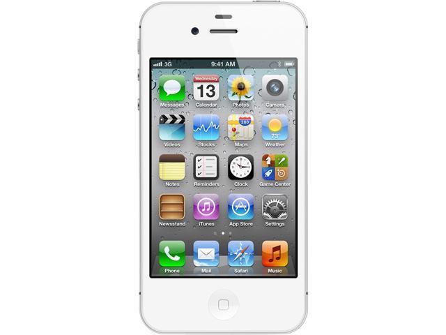 Apple iPhone 4S Black 8GB Verizon / GSM Phone CRC