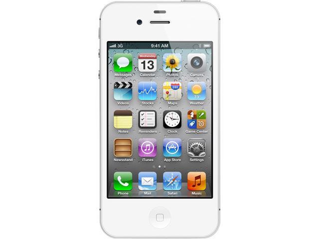 Apple iPhone 4S White 8GB Verizon / GSM Phone CRC