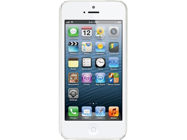 Apple iPhone 5 White LTE 16GB GSM Phone CRC
