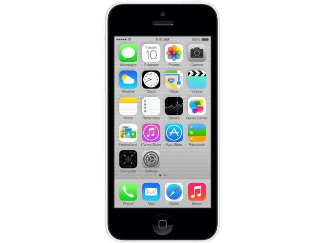 Apple iPhone 5C MF129LL/A White Unlocked GSM Phone - B Grade Refurbished