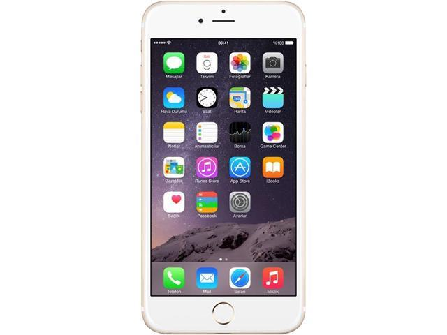 Apple iPhone 6 Plus Gold Unlocked GSM Cell Certified Refurbished Phone w/ 8MP Camera