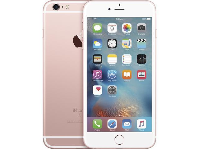 Apple iPhone 6s Plus Rose Gold Unlocked GSM Dual-Core Phone w/ 12MP Camera (Certified Refurbished)