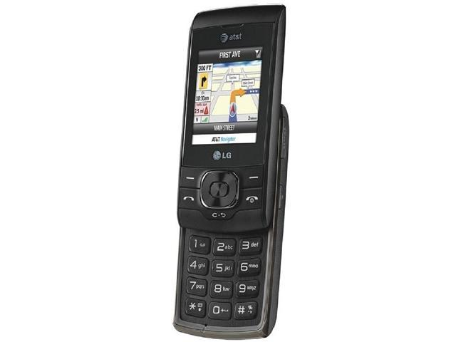 "LG GU295 100 MB Slider Push-To-Talk GPS Camera Bluetooth Unlocked GSM Cell Phone 2.0"" Black"