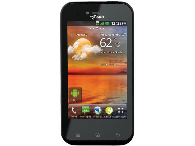 LG myTouch T E739 Black 3G Unlocked GSM Android Cell Phone