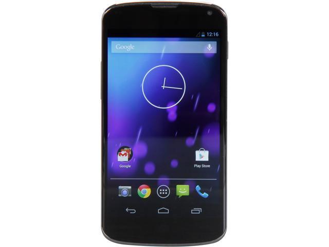 Google Nexus 4 Black 16GB Cell Phone for T-Mobile, B Grade