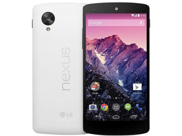"LG Google Nexus 5 16 GB storage, 2 GB RAM 16GB Unlocked GSM Android Cell Phone 4.95"" White"