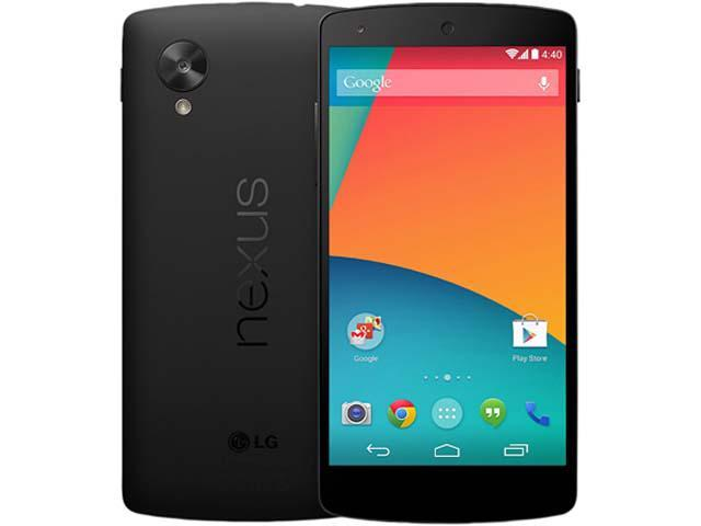 LG Google Nexus 5 D820 Black 3G 4G LTE 32GB Unlocked GSM Android Cell Phone