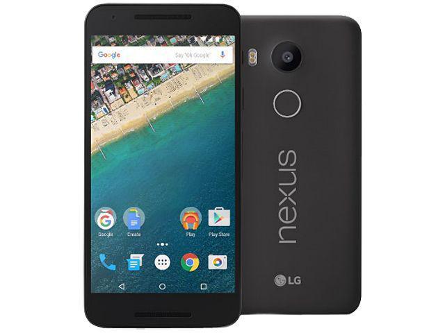 LG Google Nexus 5X 32GB Unlocked Smartphone Carbon Black International version No Warranty