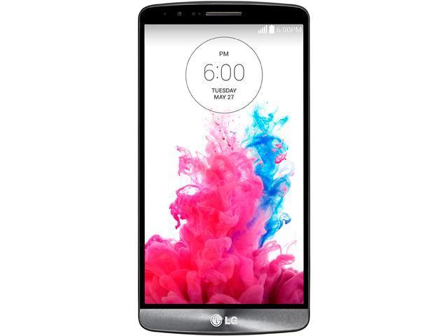 "Refurbished: LG G3 D851 32GB 4G LTE Black T-Mobile Unlocked GSM Quad-HD Android Phone - (B Grade) 5.5"" 3GB RAM"