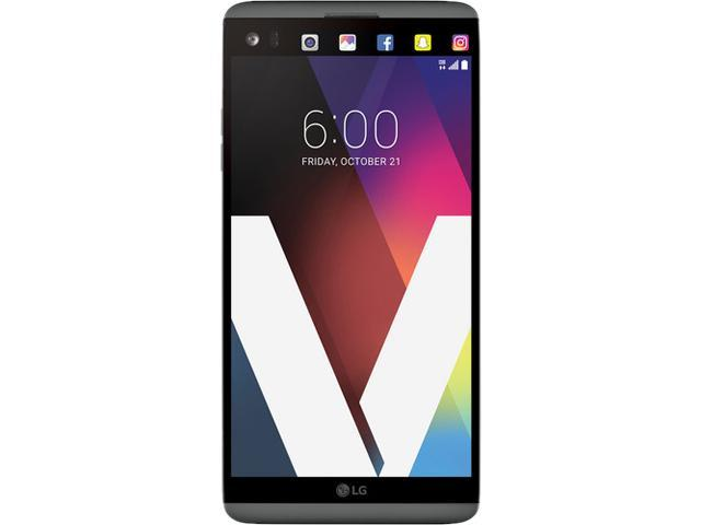 LG V20 US996 Unlocked Smartphone (5.7 inch, Titan, 64GB Built-in Storage, 4GB RAM, 4G LTE) US Warranty