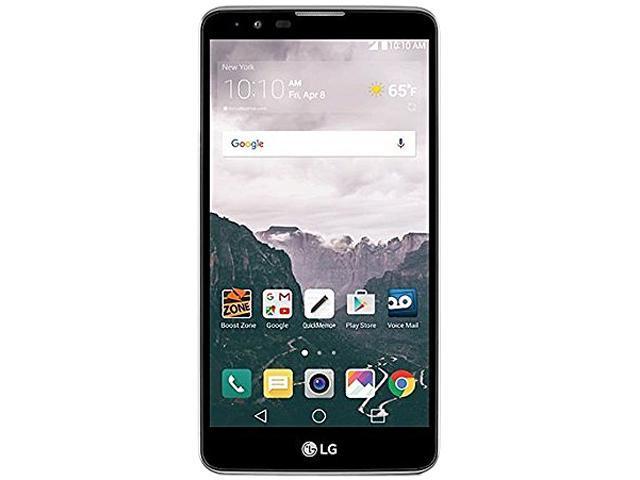 LG Stylo 2 Black Virgin Mobile Cell Phone
