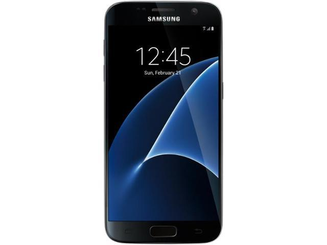 "Samsung Galaxy S7 Unlocked Smart Phone, 5.1"" AMOLED Display, Gold Color, 32GB Storage 4GB RAM"