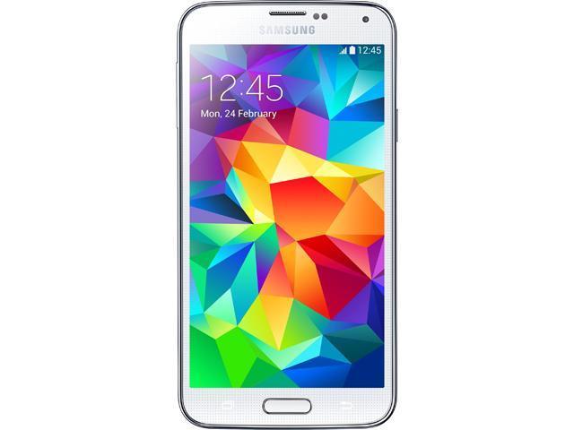 Samsung Galaxy S5 G900V White LTE 16GB Verizon Phone CRC